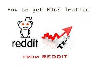 Reddit traffic